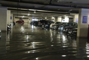 carpark sewage damage clean ups melbourne