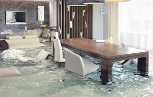 Following a flood, the best option is to hire a professional restoration company to perform the clean up and water damage remediation